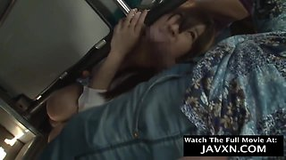 Japanese Teen Fucked On The Bus