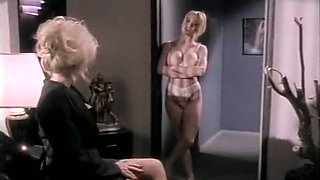 Hottest bald retro scene with Kaitlyn Ashley and Nicole Lace