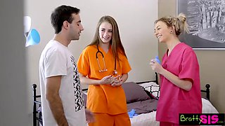 Bratty sis lil step sister nurses my cock s8:e9