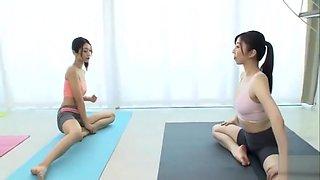Lesbian Yoga Instructor BBAN-154