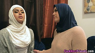 Hijabi Bride Fucking Black Stripper