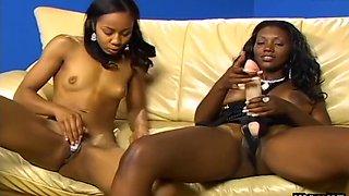 Foot Fetish Black Lesbians in Action