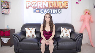 Stunning Babe Spencer Takes a Medium Sized Dick in Her Ass