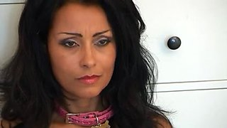 Curvy Latin MILF gets dominated silly