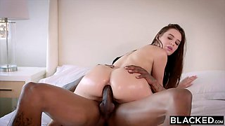 stunning lana gets an anal gymnastics workout