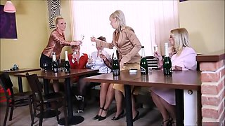 Heat Bachelorette Party Of Lonely Mom Housewives