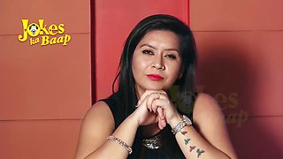 Dirty indian milf talking dirty jokes(hindi), please jerk off to her