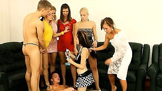 CFNM party before wedding turns into unstoppable sex orgy