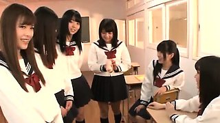 Group hardcore for sexy schoolgirls