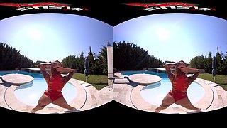 Heidi Van Horny in Heidi Van Horny - Pool Game - SinsVR