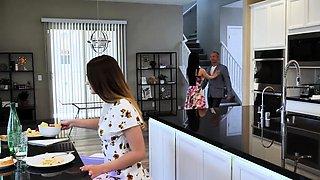 Milf Crystal Rush seducing her stepdaughters boyfriend