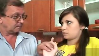 Family Threesome – Father, Daughter and Mother
