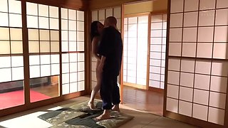 Japanese Cheating Wife old Man Fuck Son's Wife