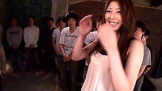 Fabulous Japanese whore Hina Akiyoshi in Hottest JAV censored Swallow, Hairy video