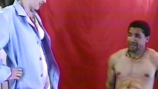 Hairy Doctor Does The Full Oral And Anal Examination