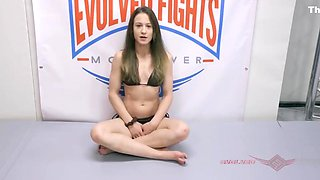 Cheyenne Jewel nude wrestling fight and fuck vs Lance Hart