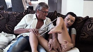 Old man swallow and tricky teacher first time What would
