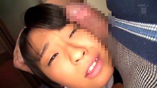 Incredible Japanese girl Airi Sato in Fabulous JAV censored Swallow, College movie