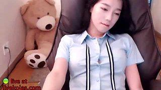 korean hottest 18yo schoolgirl striptease