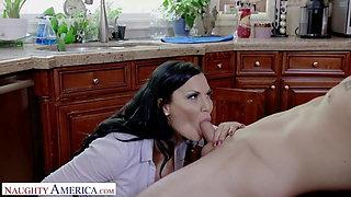 Naughty America -  Jasmine Jae Fucks her son's friend in the