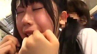 Incredible Japanese whore in Best Voyeur, Handjobs JAV scene