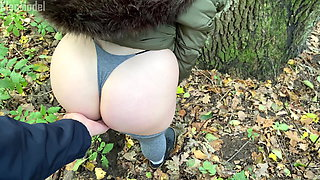 Public pickup in the park and sex in the forest, KleoModel
