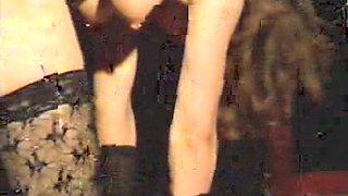 Horny homemade Spanking, BDSM sex scene