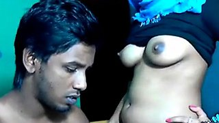 Sexy horny Muslim girl taboo sex on webcam
