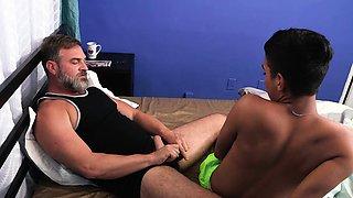 FamilyDick - Daddy Seduces Spanish Twink