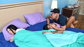 Nadia Jay & Amber Wildee in If You're Cheating, So Am I - SneakySex