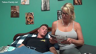 Mom teaches son