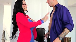 Bigtitted cfnm milf cockriding before facial