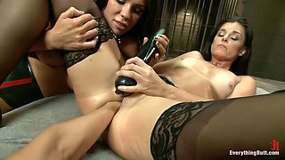Crazy fetish, fisting xxx video with horny pornstars India Summer, Kirsten Price and Francesca Le from Everythingbutt