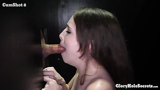 BROOKE EAT THE CUM OF 10 STRANGERS