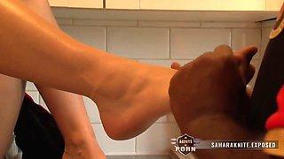 Lustful Interracial Porn Video - Sahara Knite