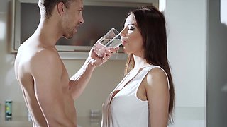 Anissa Kate gets treated to a sensual and romantic fuck session