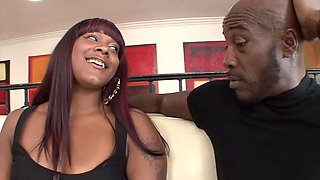 Hottest pornstars Coffee Brown and Natalie Evans in amazing big ass, facial porn scene