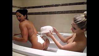 Aspen lesbian milk bathtub