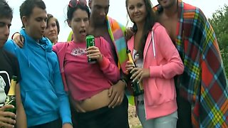 Beach Party with Hot Girls