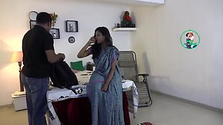 Indian doctor gets naughty!!!!