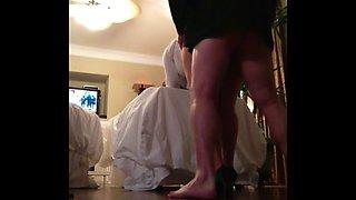 cubanhotwife4u after a wedding reception