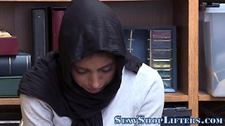 Thieving teen in hijab punished with facial