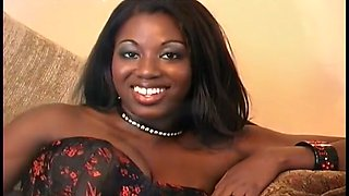 Ebony Dyme Gets Her Pussy Fucked