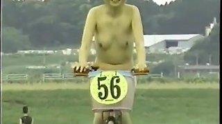 japanese nude girls cycling