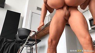 Katrina's Kitchen Cock Free Video With Xander Corvus & Katrina Jade - Brazzers