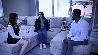 Lauren Phillips teaching Aria Carson fucking lessons