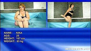 Best nude BBW wrestling