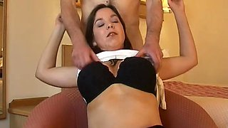 British Maire Ann receives drilled in a hotel room