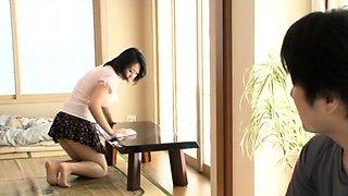 Sweet nipponese Yukari Emoto with curvy tits gets bonked