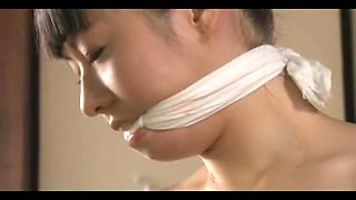 Cute Young Japanese Girl In Bondage And Anal Action